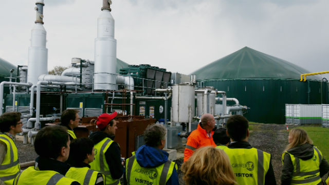 task 37 Biogas workshop Agrivert fieldtrip 14apr2016